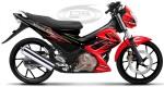 FU 150 BLACK-RED