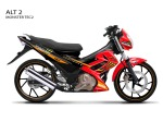 FU moster tec2 RED