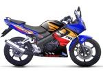 Honda CBR Biru