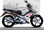 JUPITER MOTO GP BLACK-GREY 1