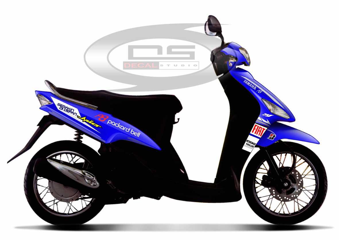 Modifikasi Motor Mio Sporty 2010 Modi Momo