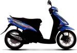 Mio Sporty X-Bike Biru