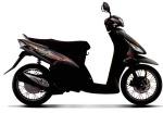 Mio Sporty X-Bike Hitam