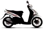 Mio Sporty X-Bike Putih