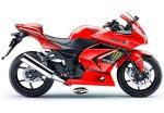 Ninja 250 Monster Merah