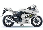 Ninja 250 Monster Putih