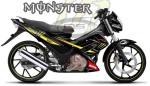 Satria Monster TEC Kuning