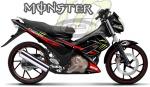 Satria Monster TEC Merah