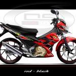 sticker-suzuki-raider-red-black