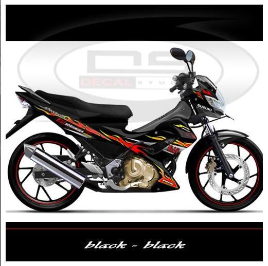 Rockstar, Model Rider 150 , Model Yoshi Flame dan Monster Energi Tech