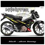 sticker-suzuki-satria-monster-tec-black-aksen-kuning