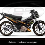 sticker-suzuki-satria-monster-tec-black-aksen-orange