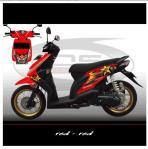sticker-honda-beat-rockstar-red