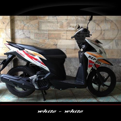 Striping Sticker List Motor Honda Vario Techno Murah Jual
